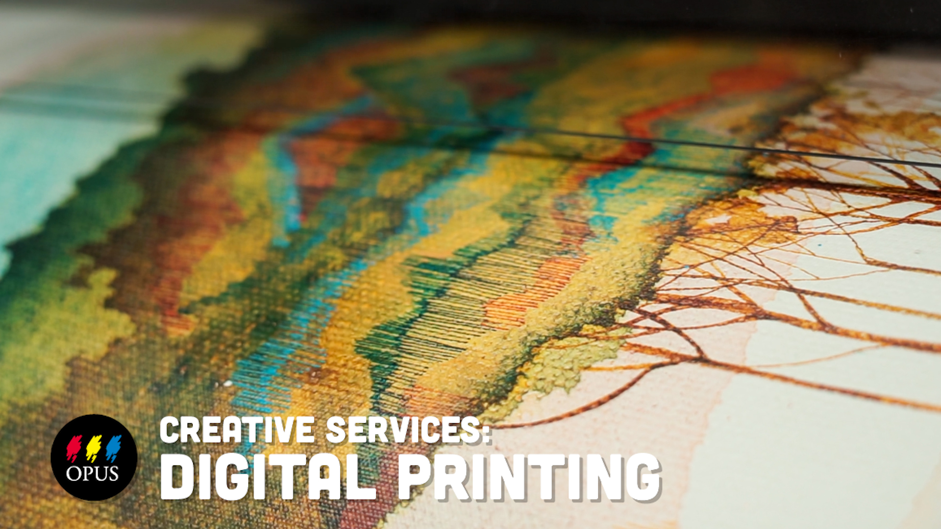 Opus Digital Printing & Mounting Services Video. Click to watch!
