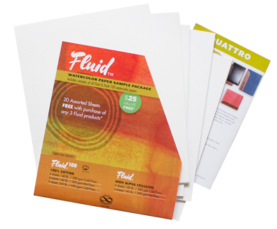 Fluid Watercolour Sample Pack