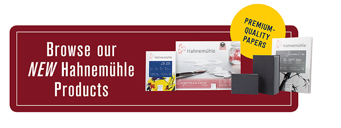 Browse our NEW Hahnemühle Products
