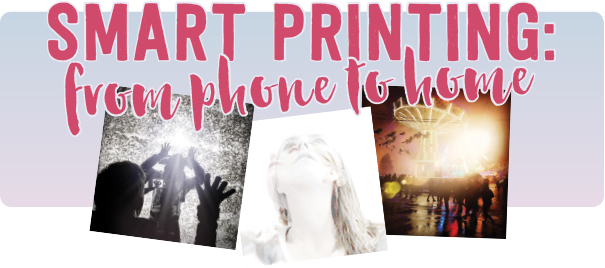 Smart Printing: From Phone to Home